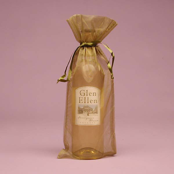 Organza Wine Bag